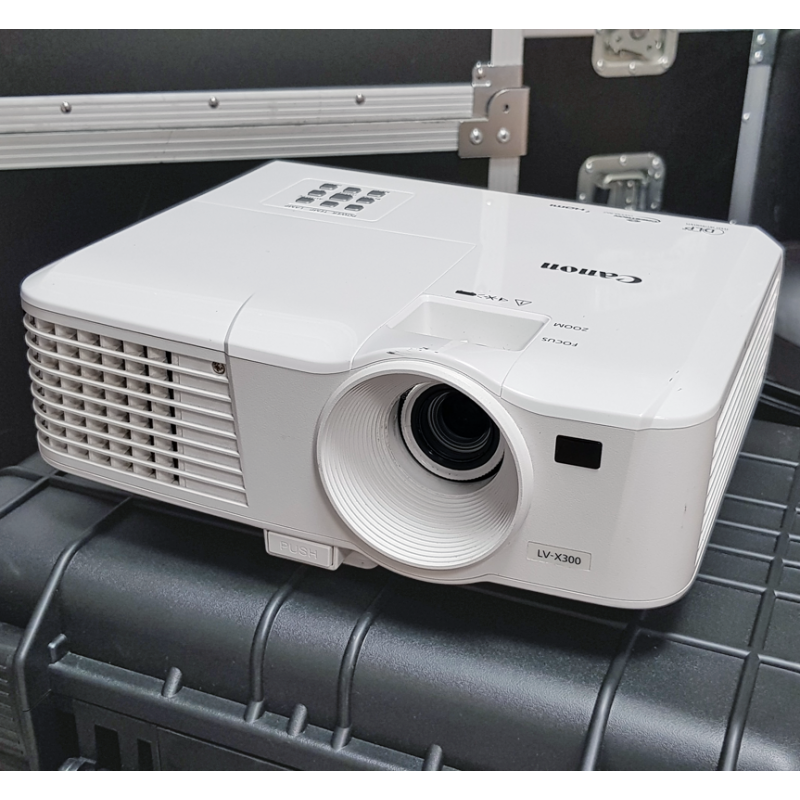Proyector Canon LV X300 frontal
