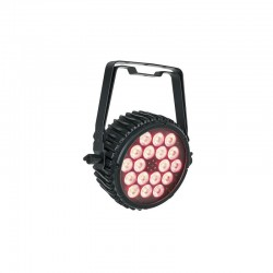 Foco led Showtec RGB color rojo